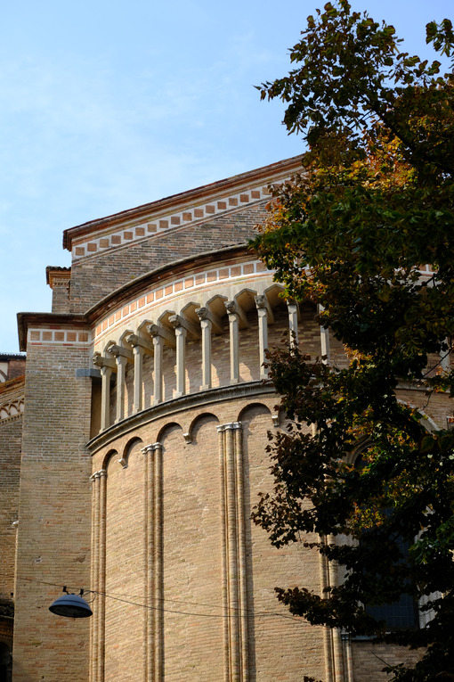 Apse of the Cathedral of Lodi. - MyVideoimage.com | Foto stock & Video footage