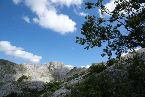 Apuane mountains. Mountains of the Apuan Alps between Monte Pisanino and Monte Cavallo. Stock photos. - MyVideoimage.com | Foto stock & Video footage