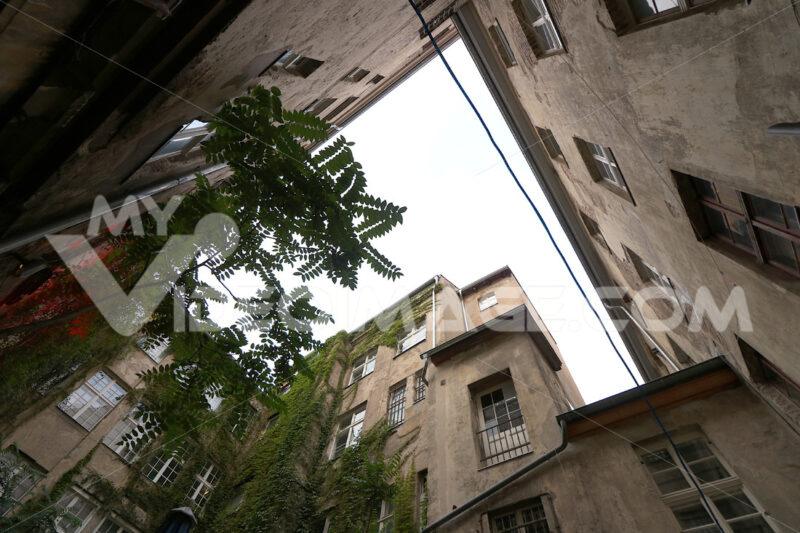 Berlin, Germany, 13 June 2018. Old residential buildings. Foto Berlino. Berlin photos