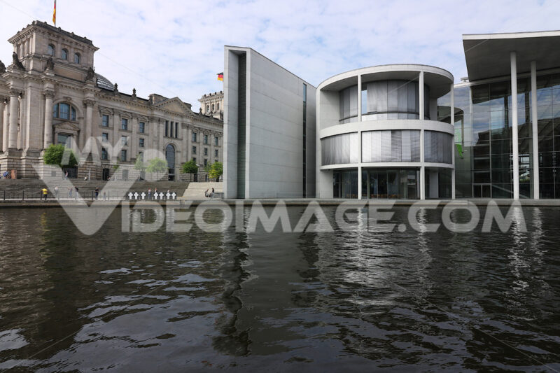 Berlin, Germany, 13 June 2018. The Bundestag with new offices ov - LEphotoart.com