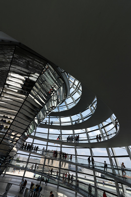Berlin, Germany, 13 June 2018. The new dome of the Bundestag. Foto Berlino. Berlin photos
