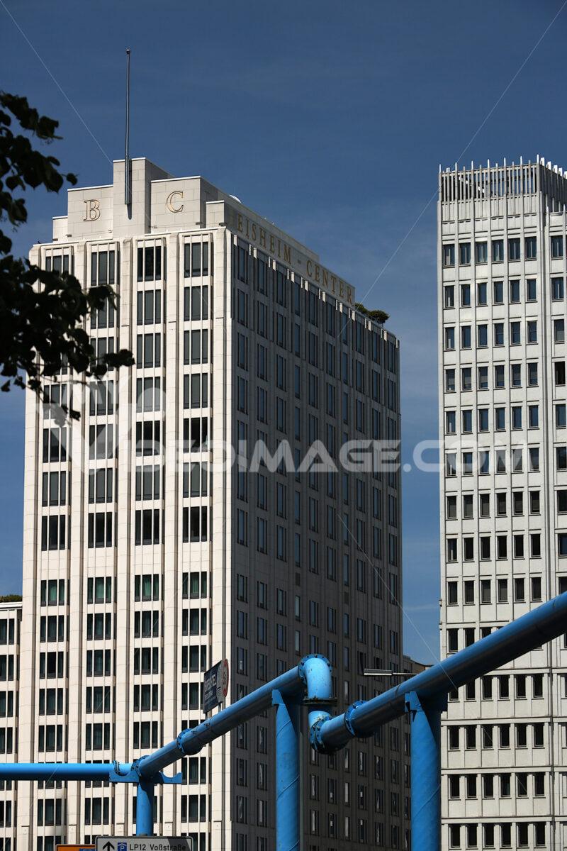 Berlin. 06/14/2018. Skyscrapers on Potsdamer Platz. In the foreg - MyVideoimage.com