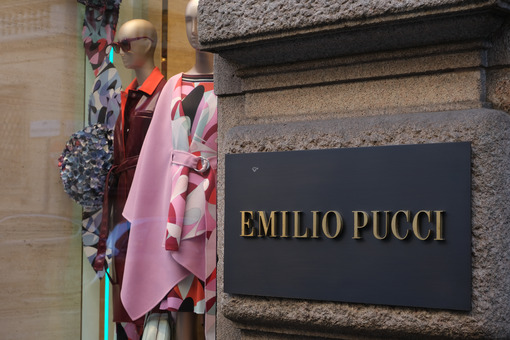 Boutique of the Italian high fashion house Emilio Pucci in Via M - MyVideoimage.com