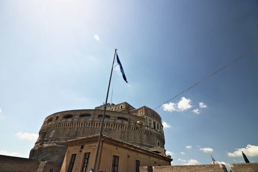 Central building of Castel Sant'Angelo. - MyVideoimage.com