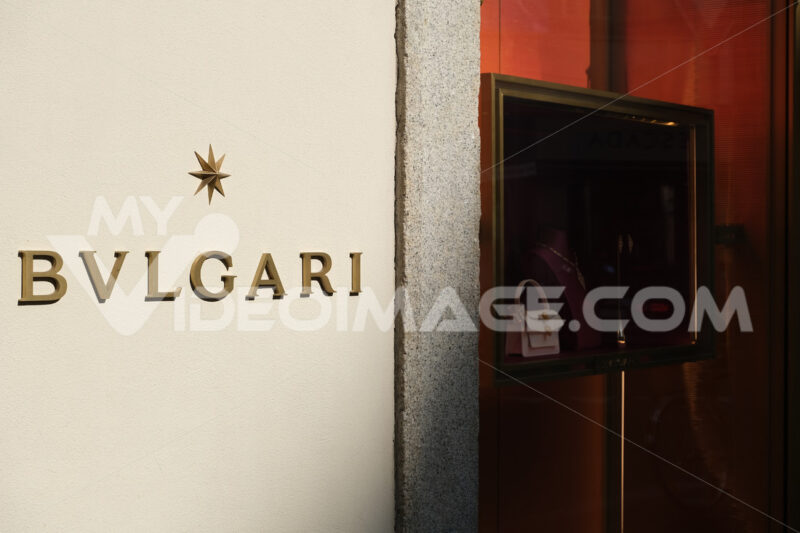 Character of the banner of the Italian high fashion boutique Bul - MyVideoimage.com