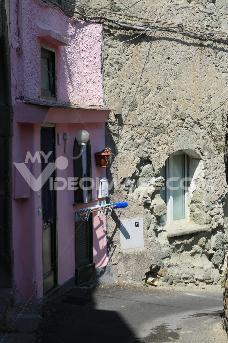 Characteristic street in the ancient village of Forio on the Isl - MyVideoimage.com