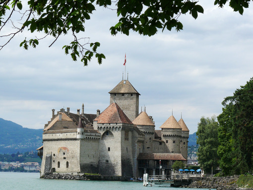 Chillon Castle. - MyVideoimage.com
