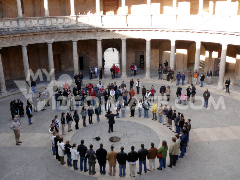 Choir at the Palazzo Carlo in the Alhambra. - MyVideoimage.com