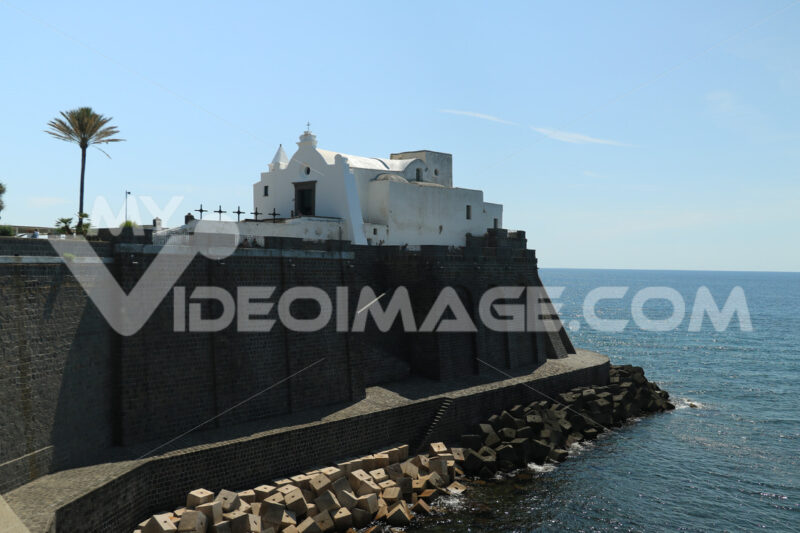 Church of Soccorso in Forio on the island of Ischia near Naples. - MyVideoimage.com
