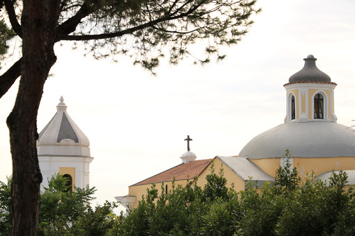 Convent of the Friars Minor S. Antonio in Ischia Ponte. Church a - MyVideoimage.com