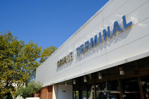 Cruise terminal. - MyVideoimage.com | Foto stock & Video footage