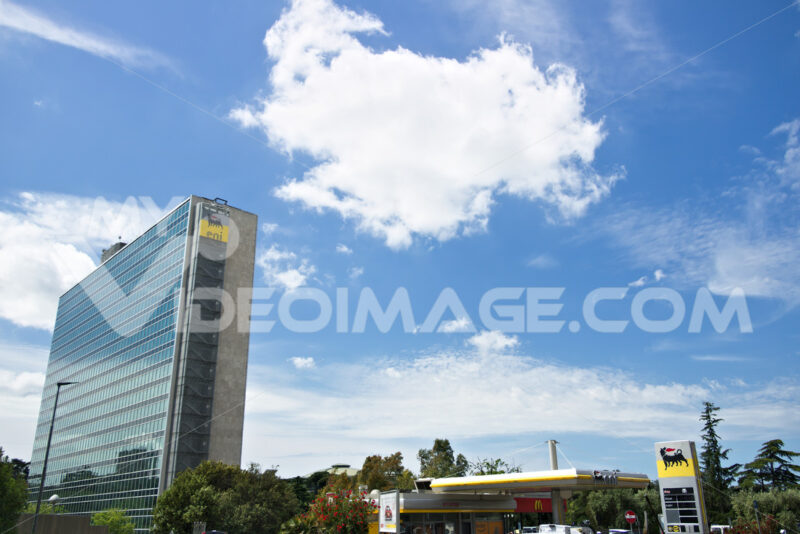 ENI headquarters building in Rome Eur. - MyVideoimage.com