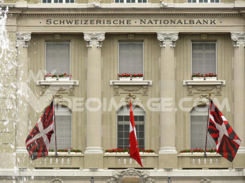 Facade of the National Bank. - MyVideoimage.com
