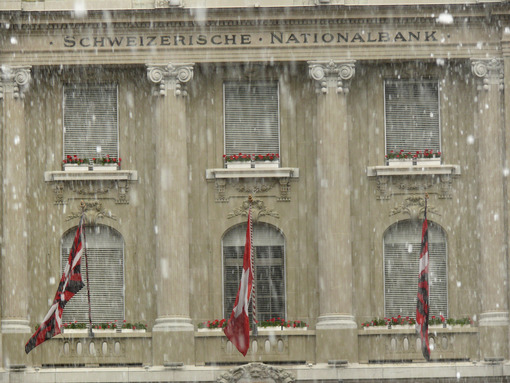 Facade of the National Bank. - MyVideoimage.com