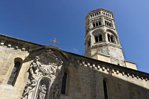 Genoa. Campanile della Chiesa di San Donato - MyVideoimage.com | Foto stock & Video footage