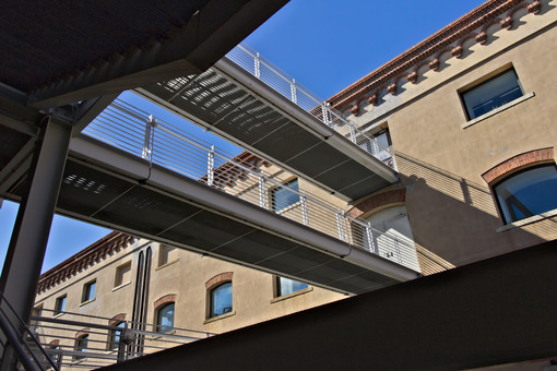 Genoa. Pedestrian walkways. - MyVideoimage.com | Foto stock & Video footage