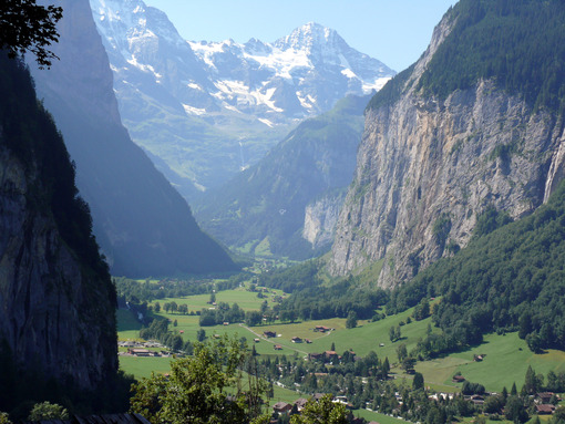 Grindelwald. Switzerland. The valley of the small town. Foto Svizzera. Switzerland photo