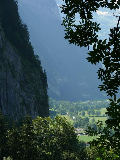 Grindelwald. Switzerland. The valley of the small town. Foto Svizzera. Switzerland photo