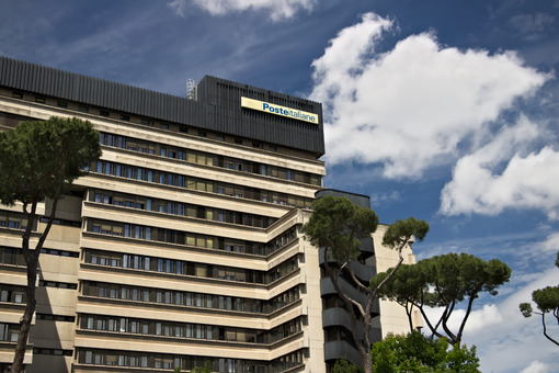 Head Office of Poste Italiane, Viale Europa, Rome Eur. - MyVideoimage.com