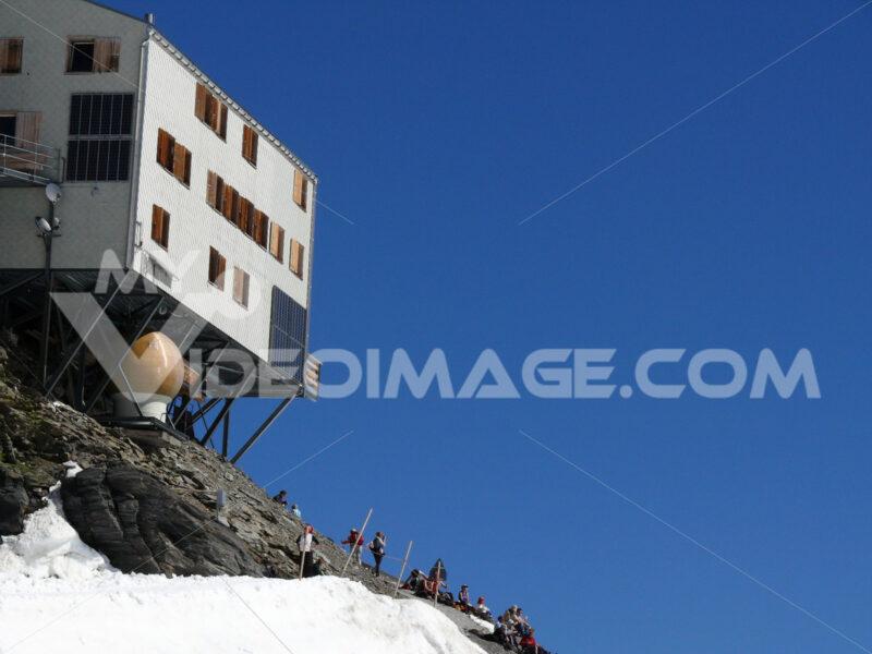 Jungfrau, Switzerland. 08/06/2009. High mountain refuge of the jungfraujoch. Foto Svizzera. Switzerland photo