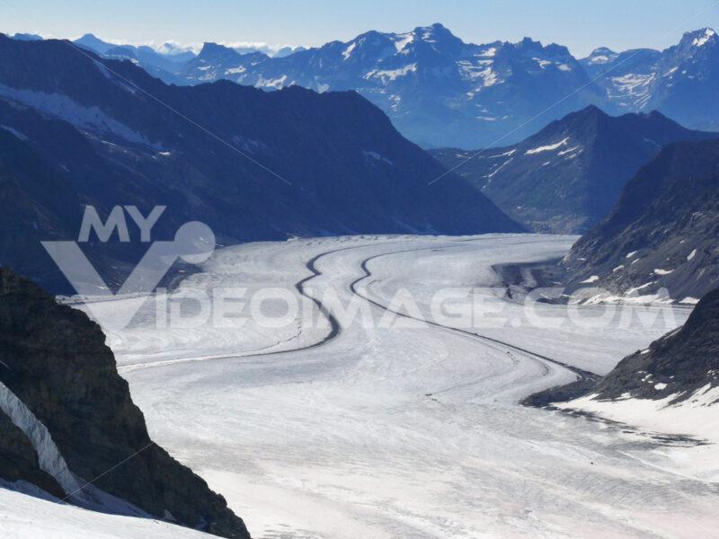 Jungfrau, Switzerland. Aletsch Glacier . Foto Svizzera. Switzerland photo