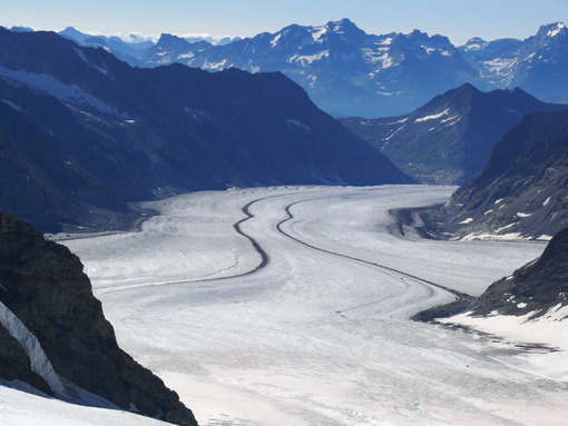 Jungfrau, Switzerland. Aletsch Glacier . Foto Svizzera. Switzerland photo