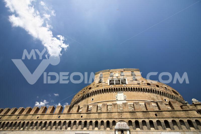 Main facade of Castel Sant'Angelo. - MyVideoimage.com