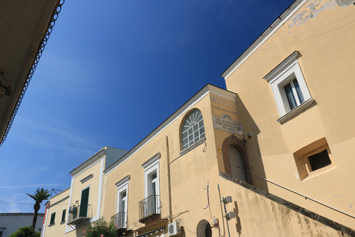 Mediterranean-style building housing the museum of the hospital - MyVideoimage.com