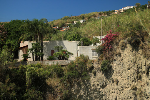 Mediterranean village on the island of Ischia. Near Sant'Angelo. - MyVideoimage.com