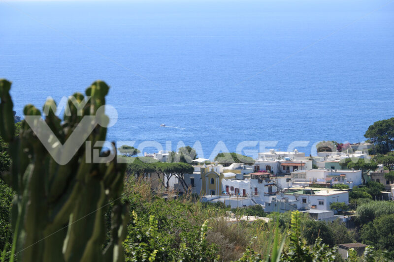 Mediterranean village on the island of Ischia. Near Sant'Angelo. Foto Ischia photos.