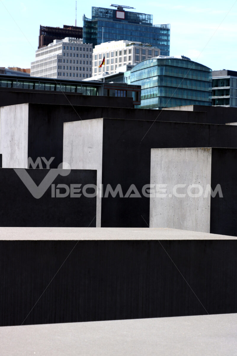 Memorial for the murdered Jews of Europe. Berlin - MyVideoimage.com