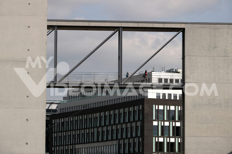 Modern buildings of the new offices of the Bundestag - MyVideoimage.com
