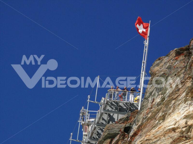 Observation point at Jungfraujoch - MyVideoimage.com