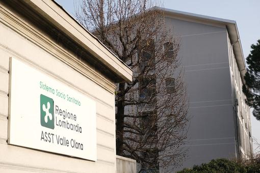Ospedale Busto. Busto Arsizio Hospital. Ancient building. - MyVideoimage.com | Foto stock & Video footage
