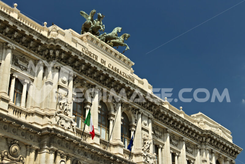 Palace of the Court of Cassation. Foto stock royalty free. - LEphotoart.com