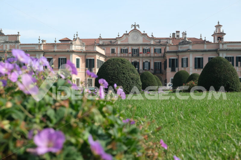Palazzo Estense Varese. Headquarters of the Municipality of Varese. - MyVideoimage.com | Foto stock & Video footage