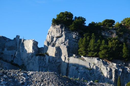 Portoro marble quarries on Palmaria Island, near the Cinque Terre in the municipality of Portovenere. La Spezia, Italy. - LEphotoart.com