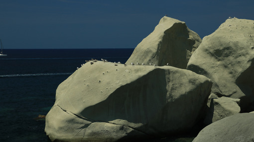 Rocks of falling in love in Forio on the island of Ischia near N - MyVideoimage.com