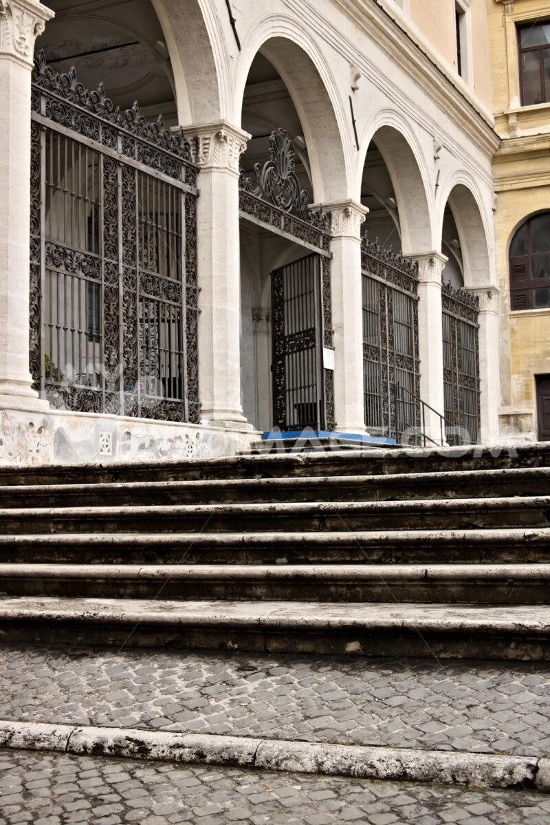 Rome. Ancient basilica of San Pietro in Vincoli. The church, of - MyVideoimage.com