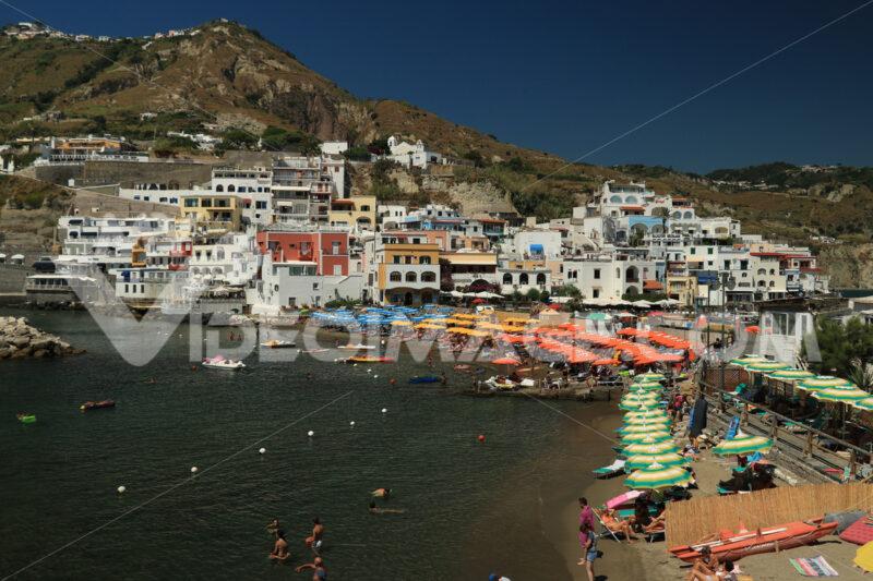 Sant'angelo di Ischia, Mediterranean sea near Naples. Foto Ischia photos.