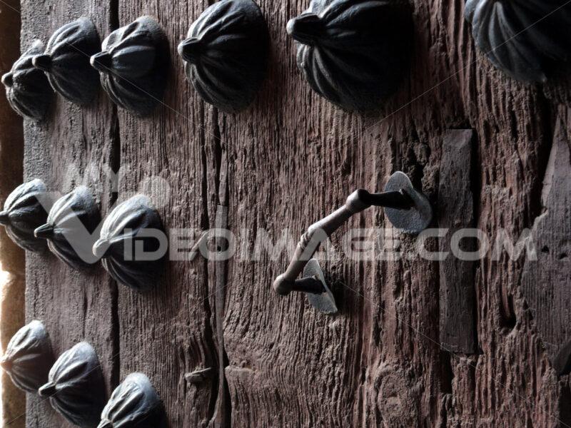 Studs and iron handle. - MyVideoimage.com