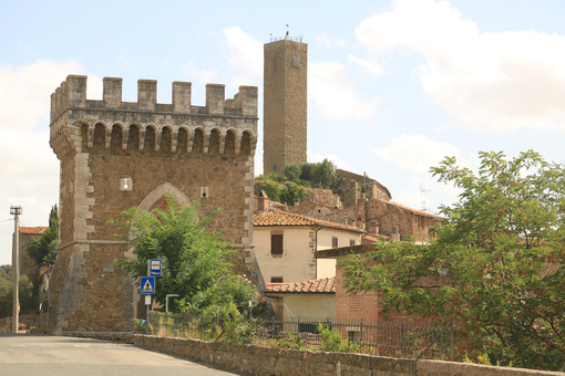 The village of Pereta, near Magliano in Maremma Toscana. Ancient - MyVideoimage.com