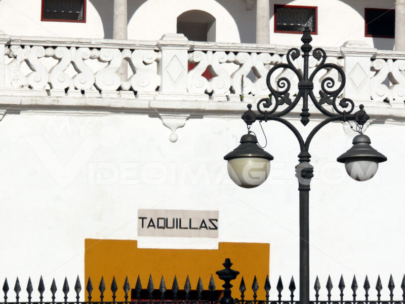 Ticket office detail. - Foto Siviglia. Sevilla photo