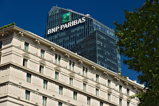 Top of the Diamond Tower and teaches BNL- BNP Paribas in Milan. - MyVideoimage.com