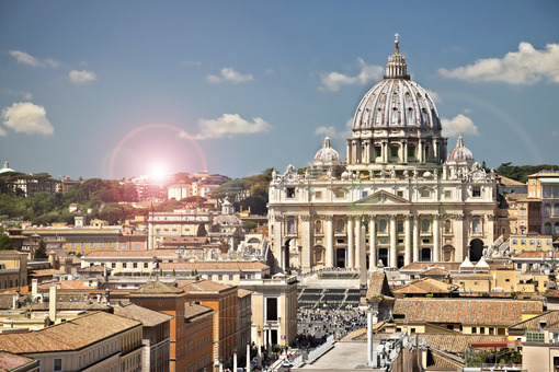 Vatican City and St. Peter's Basilica. - LEphotoart.com