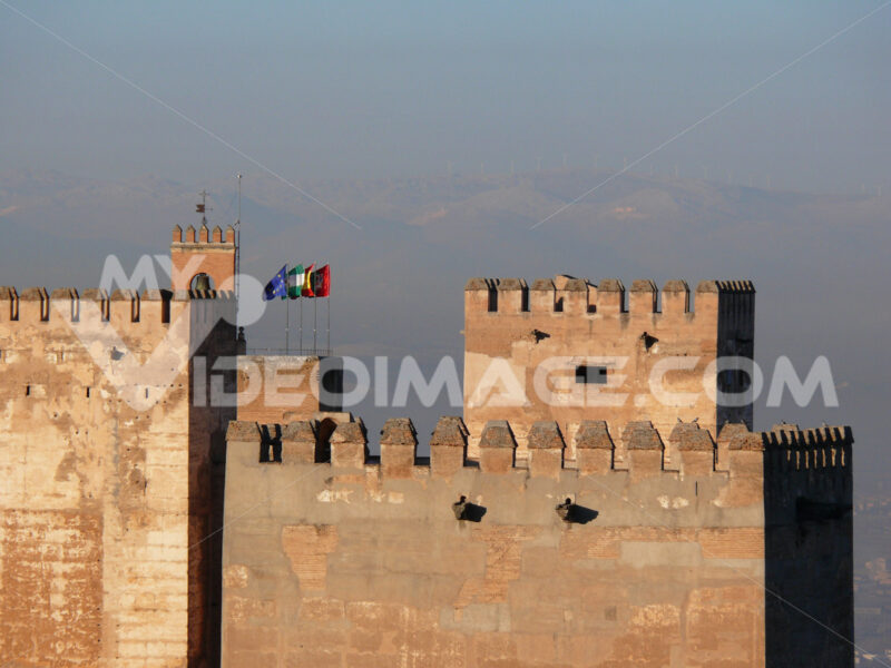 View of the Alhambra complex. - MyVideoimage.com