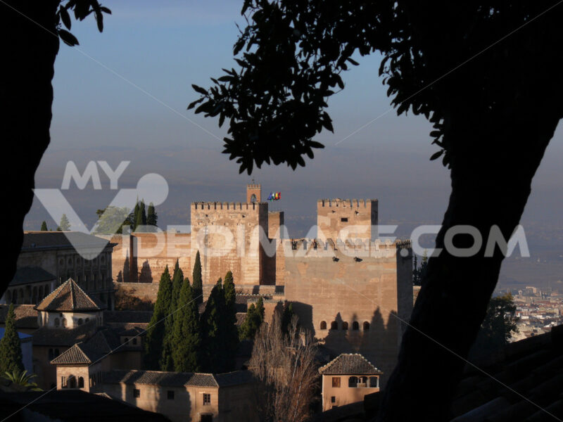 View of the Alhambra complex - MyVideoimage.com