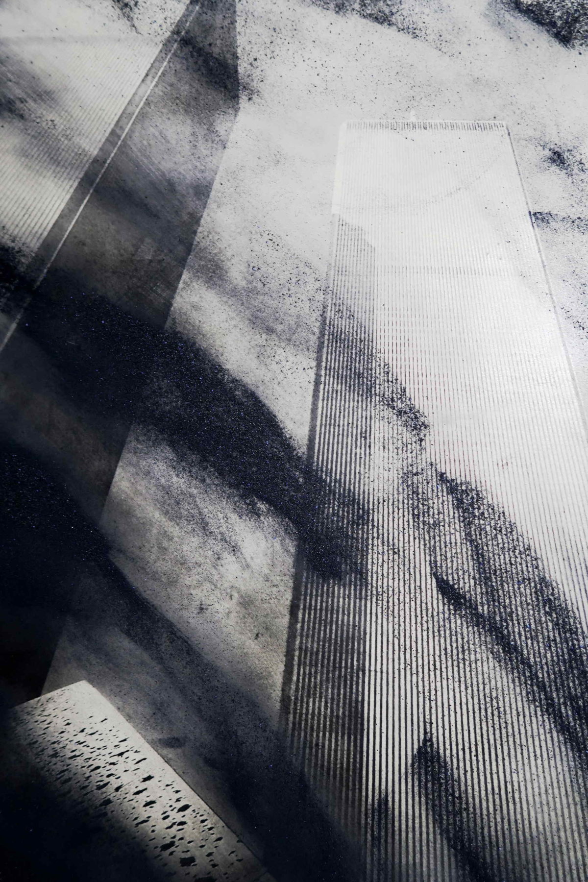 Limited edition photographs New York. New York, photo art the twin towers