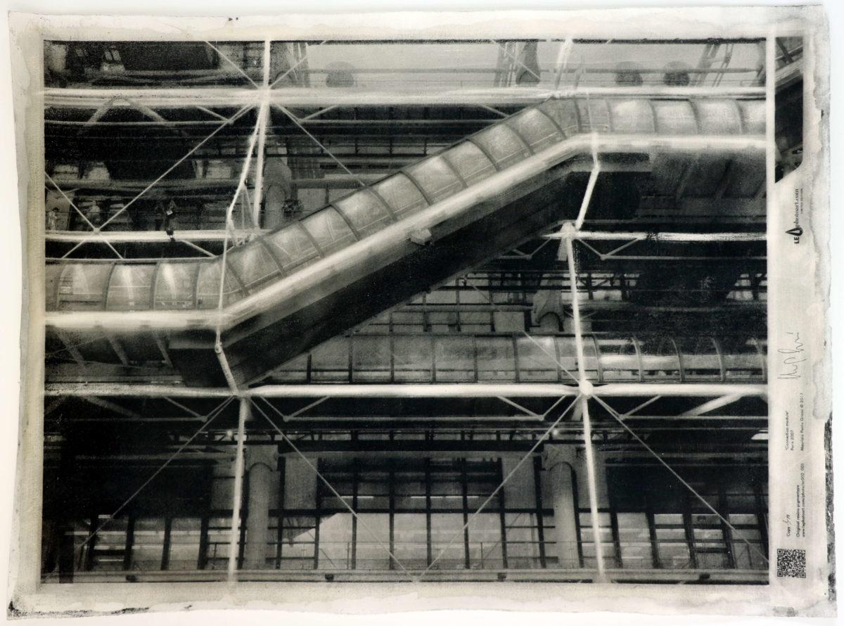 Photo Beaubourg limited edition. Dettaglio foto d'arte